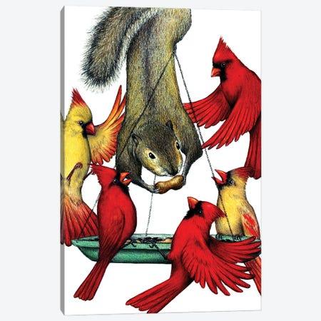 Cardinal Sin Canvas Print #DMH22} by Don McMahon Canvas Wall Art