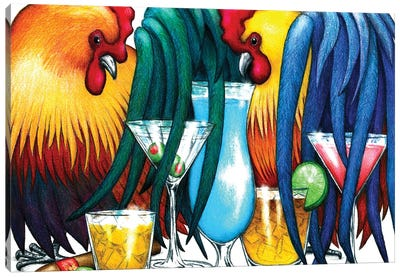 Cocktails Canvas Art Print