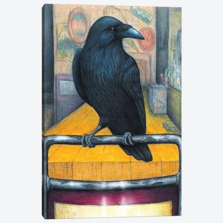 Crow Bar Canvas Print #DMH29} by Don McMahon Canvas Art