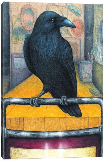 Crow Bar Canvas Art Print