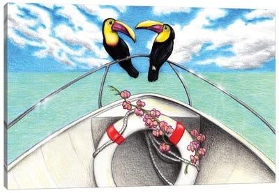 Cruising Together Canvas Art Print