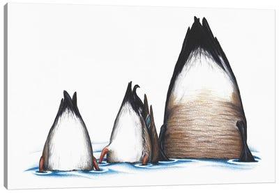 Duck Duck Goose Canvas Art Print