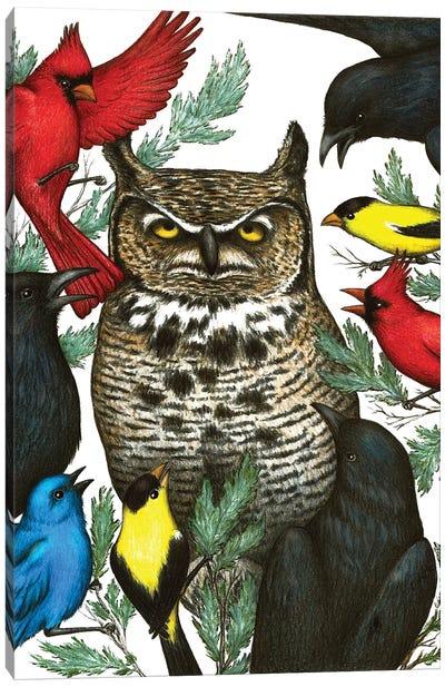 Angry Birds Canvas Art Print