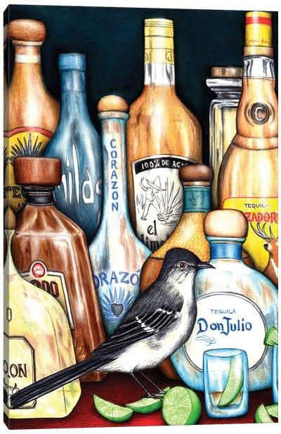 Tequila Mockingbird Canvas Art Print