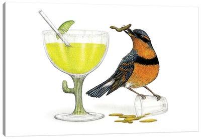 The Early Bird Canvas Art Print