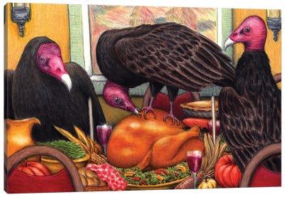 Turkey Vultures Canvas Art Print