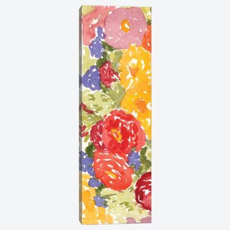 Zinnia Array I Canvas Print #DMI10} by Dianne Miller Canvas Wall Art