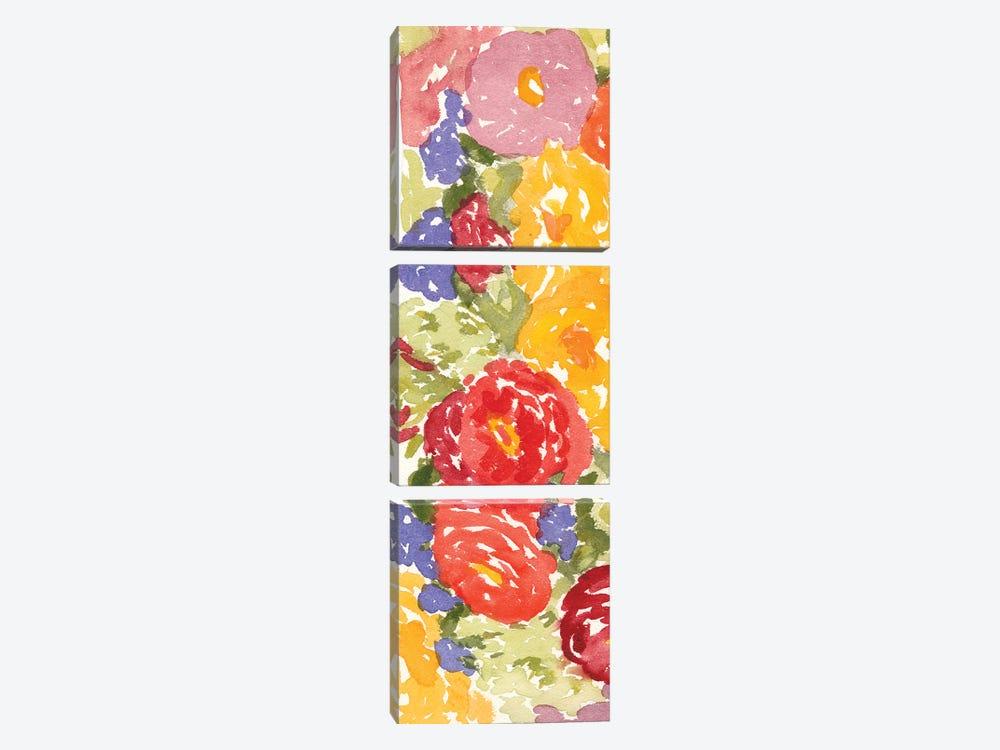 Zinnia Array I by Dianne Miller 3-piece Art Print