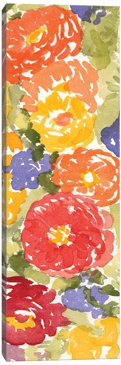 Zinnia Array II Canvas Art Print