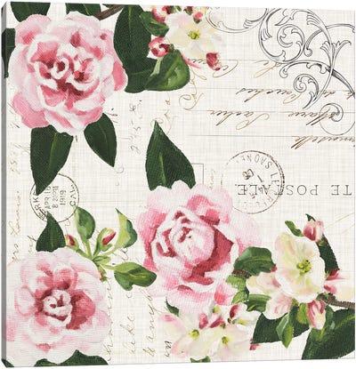 Ephemeral Roses I Canvas Art Print