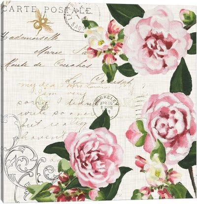 Ephemeral Roses II Canvas Art Print