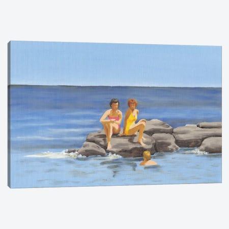 Beach Scene II Canvas Print #DMI15} by Dianne Miller Canvas Art Print