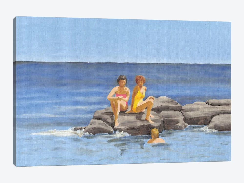 Beach Scene II by Dianne Miller 1-piece Canvas Art