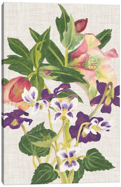April in Paris IV Canvas Art Print