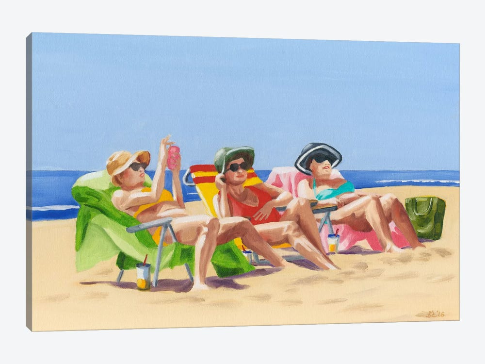 Beach Vacation I by Dianne Miller 1-piece Canvas Artwork
