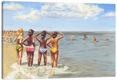 Beach Vacation II Canvas Art Print