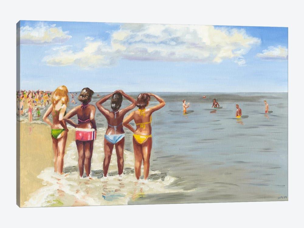 Beach Vacation II by Dianne Miller 1-piece Canvas Art Print