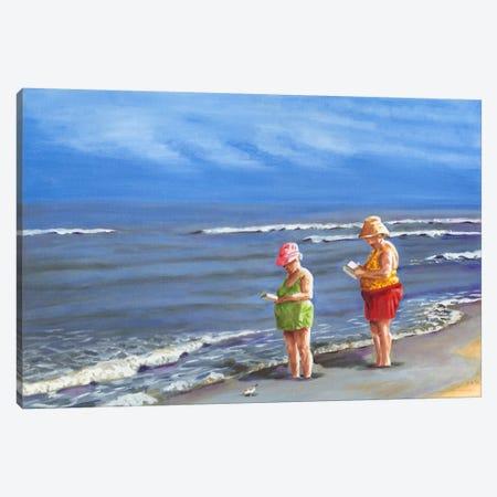 Beach Vacation III Canvas Print #DMI3} by Dianne Miller Canvas Art