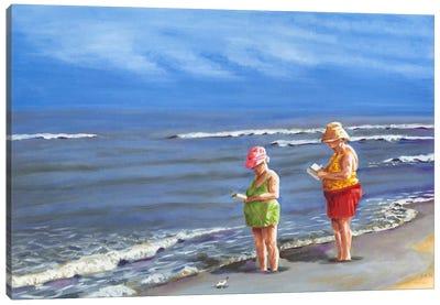 Beach Vacation III Canvas Art Print