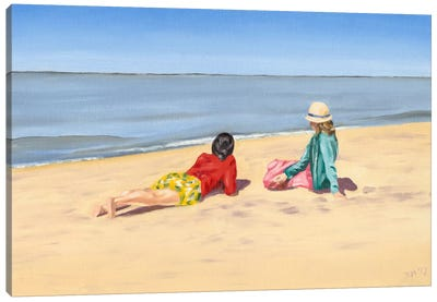 Beach Vacation IV Canvas Art Print