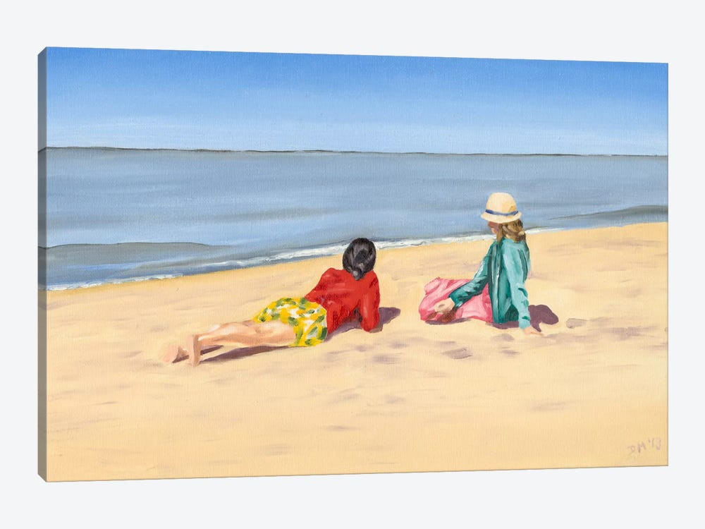 Beach Vacation IV by Dianne Miller 1-piece Art Print