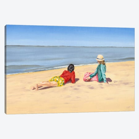 Beach Vacation IV Canvas Print #DMI4} by Dianne Miller Canvas Print