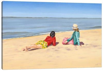 Beach Vacation IV Canvas Art Print