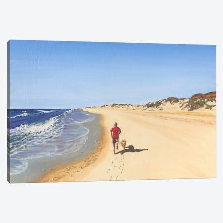Beach Vacation V Canvas Print #DMI5} by Dianne Miller Canvas Print