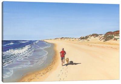 Beach Vacation V Canvas Art Print