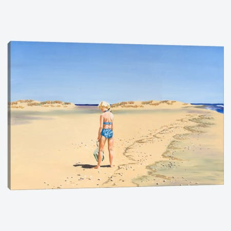 Beach Vacation VI Canvas Print #DMI6} by Dianne Miller Canvas Print