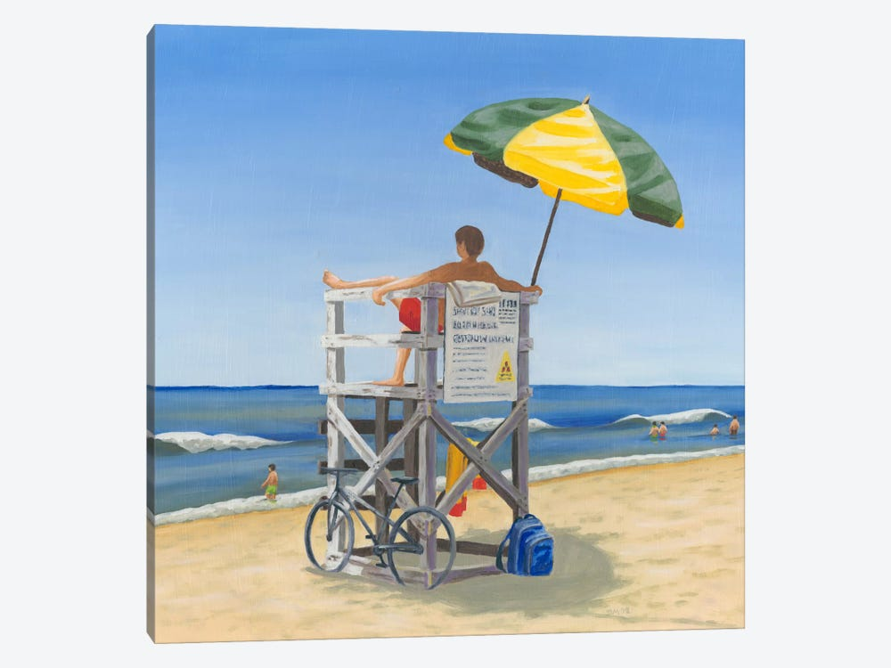Beach Vacation VII by Dianne Miller 1-piece Canvas Artwork