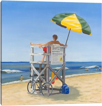 Beach Vacation VII Canvas Art Print