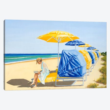 Beach Vacation VIII Canvas Print #DMI8} by Dianne Miller Canvas Wall Art