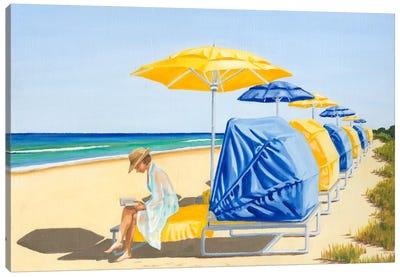Beach Vacation VIII Canvas Art Print