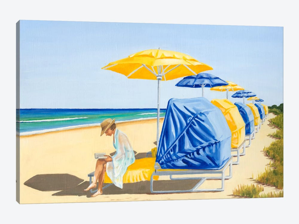 Beach Vacation VIII by Dianne Miller 1-piece Canvas Print