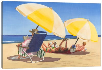 Beach Vacation IX Canvas Art Print