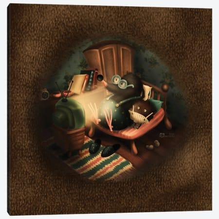 Cozy Evening Canvas Print #DMK61} by Anna Demchenko Canvas Print