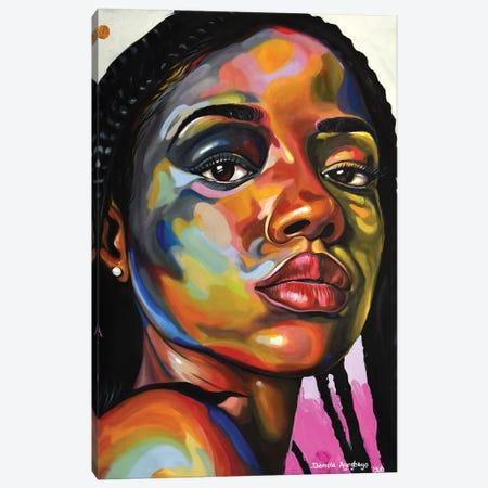 Muddled Canvas Print #DML11} by Damola Ayegbayo Canvas Print