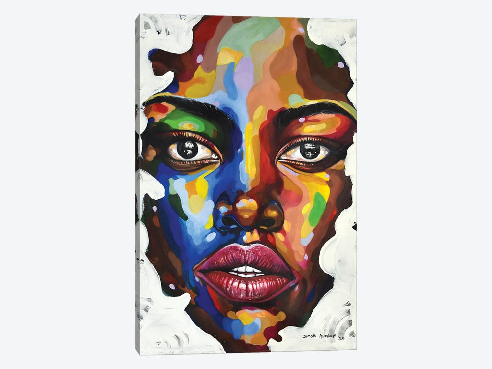 Isolation by Damola Ayegbayo 1-piece Art Print
