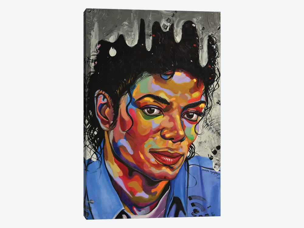 Michael Jackson by Damola Ayegbayo 1-piece Canvas Artwork