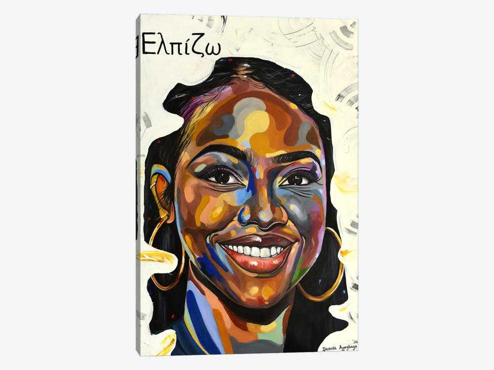 Anticipate by Damola Ayegbayo 1-piece Canvas Art