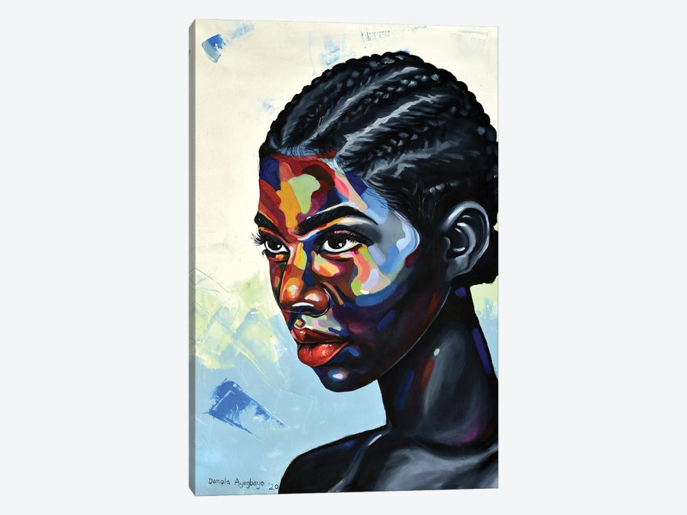 Looking Beyond by Damola Ayegbayo 1-piece Canvas Print