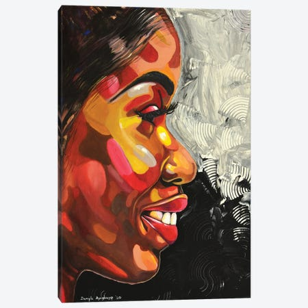 Celebrate Life Canvas Print #DML22} by Damola Ayegbayo Canvas Art