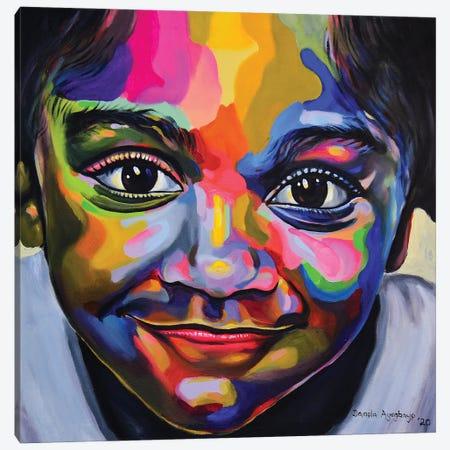 Gaiety Canvas Print #DML23} by Damola Ayegbayo Canvas Artwork