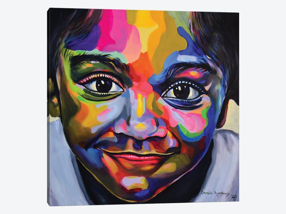 Gaiety by Damola Ayegbayo 1-piece Canvas Print