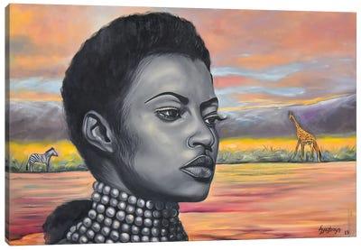Black Essence II Canvas Art Print