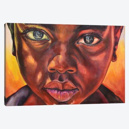 Vision Of Hope Canvas Print #DML25} by Damola Ayegbayo Canvas Art Print