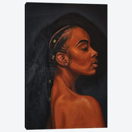 Black Pride Canvas Print #DML26} by Damola Ayegbayo Canvas Print