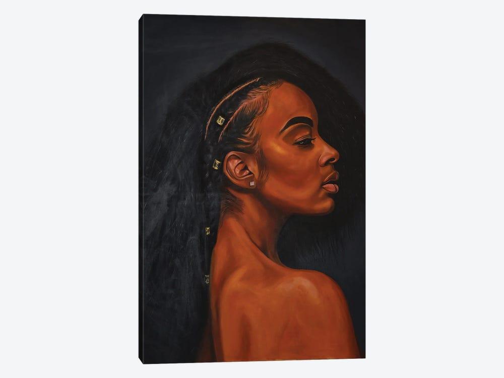 Black Pride by Damola Ayegbayo 1-piece Canvas Art