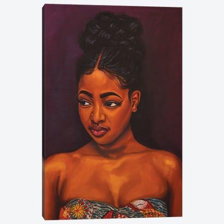 Black Pride II Canvas Print #DML27} by Damola Ayegbayo Canvas Print